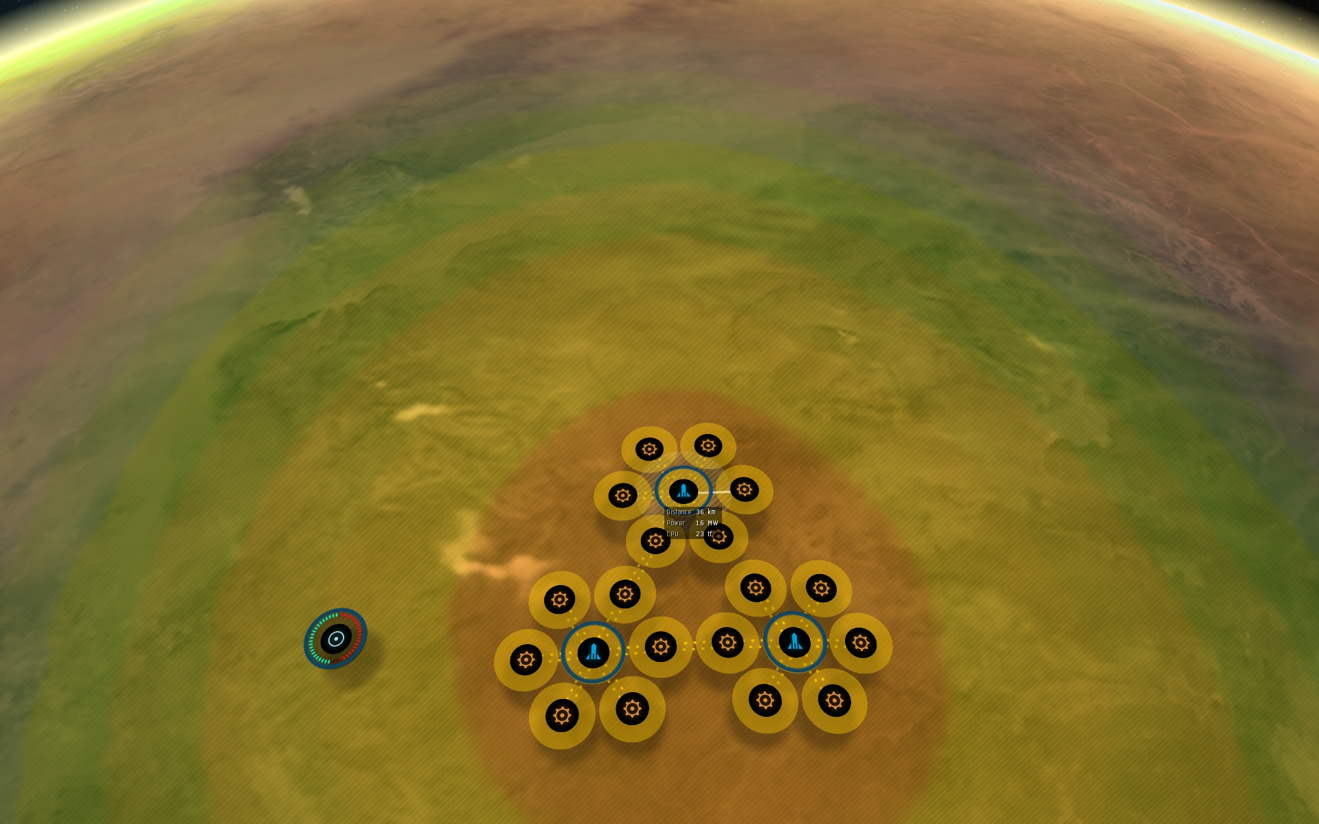 Setting up a factory planet for planetary interaction for Internet plante