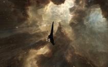 Tornado in Warp - Amarr Nebulae