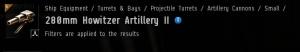 280mm Howitzer Artillery II