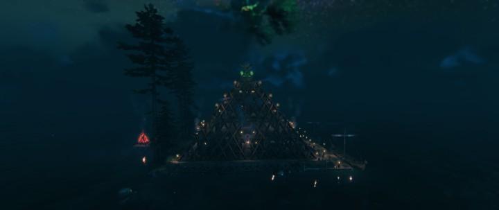VALHEIM Mega Pyramid Base